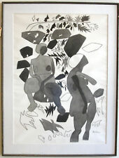 Gregorio Prestopino c.1960 nude woman painting Italian Brooklyn NY artist