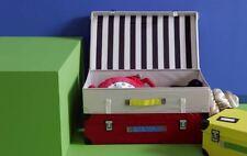 Ikea Children Boy Girl Kid Trunk Box Storage Toys 57x35x28CM FLYTTBAR Red-NEW