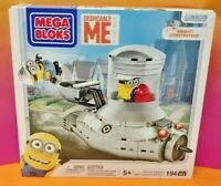 Despicable Me Mega Bloks 194 Piece Minion Mobile Brand NEW Sealed Mega Blocks