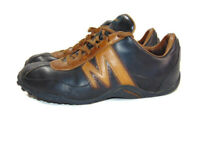 Merrell Men's 9 US D Black Tan Leather Sprint Blast 1940 Casual Hiking Sneakers