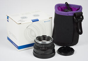 Pergear 35mm f/1.6 manual focus lens Sony E-mount