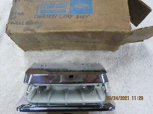 NOS 1967 Ford Floor Shift Console Rear Lamp Light Galaxie XL 500