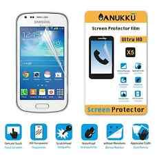 3x PELLICOLA per Samsung Galaxy Trend Plus S7580 FRONTE + PANNO PROTETTIVA