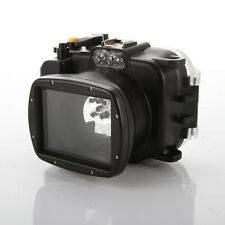 Meikon 40M 130ft Underwater Waterproof Housing Case Cover for Sony WX500 Camera