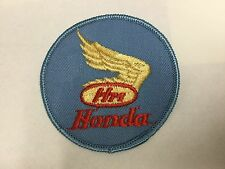 Honda wings embroidered patch