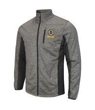 New NWT Men's Boston Bruins Space-Dye Full-Zip Fleece Jacket Size S Small NHL