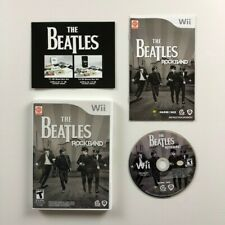 Wii Game The Beatles Rockband with Case