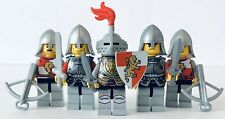 LEGO Castle Kingdoms Red Lion Knights Lot Of 5x Army Builder Armor Fantasy #6