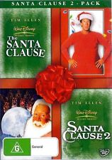 THE SANTA CLAUSE 1 - 2 : NEW DVD