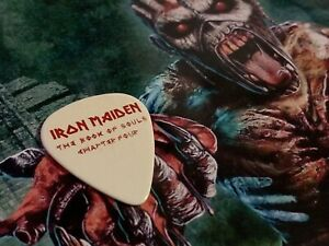 Iron Maiden Adrian Smith Book Of Souls Chapter Four Guitar Pick Tour 2017