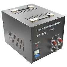 10000W Watt Step Up Down Electric Power Voltage Converter Transformer Heavy Duty