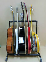 Haze Guitar / Instrument Rack Stand for FIVE Acoustic-Electric-Bass-Banjo