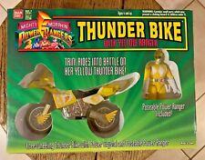Bandai Mighty Morphin Power Rangers Thunder Bike With Yellow Ranger Figure 2231