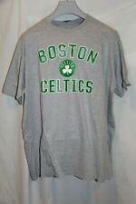 NWT Men's Boston Celtics Primary Logo Gray Cotton T-Shirt 2XL by Fanatics