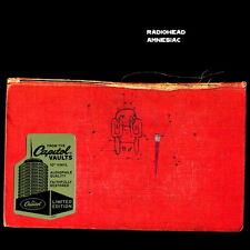"RADIOHEAD AMNESIAC 2x 10"" LP *RARE* US CAPITOL VAULTS 140g AUDIOPHILE VINYL New"