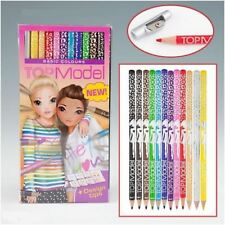 TOPModel Coloured Pencil Set D - 12 Colours
