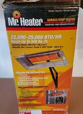 Mr. Heater MH25LP High Intensity Radiant Propane Garage Heater, 22000 BTU