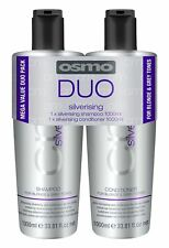 Osmo Silverising Duo Twin Pack 1000ml Shampoo and Conditioner includes pumps