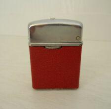 Vintage Cigarette Lighter, Red, Unbranded, Disposable Fuel Cartridge, Well Built