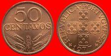 50 CENTAVOS 1977 SIN CIRCULAR PORTUGAL-0170SC