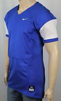 Nike Royal Blue White Pro Combat Speed Football Jersey NWT $75