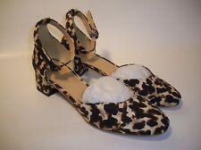 """Cabi #6020 """"KIKI Ankle Strap Leopard Print Shoes"""" Women's Size 9"""