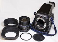 Mamiya RZ67 Professional SLR Film Camera Body AE Finder w/ Z 50mm F/4.5 W Lens