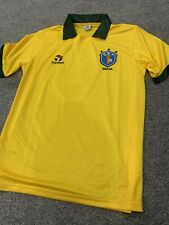 Brazil 1986 shirt Retro Remake Topper jersey size #10 Large World Cup 1986