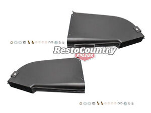 Holden Torana Brake Duct + Fitting Kit PAIR LEft + Right LX A9X Front vent stop