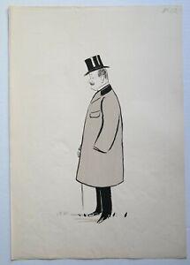 """★★Lithographie SEM  """"Le TURF"""" 1900 M. Jean PRAT"""