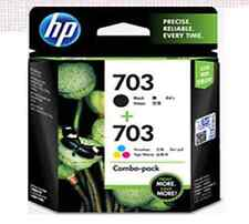 HP Original Ink Catridge Real Product [F6V32AA] CD887AA+ CD888AA NO.703