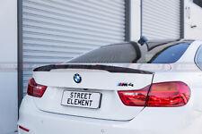 BMW F82 M4 Coupe M Performance Style Carbon Fiber Rear Trunk Lip Spoiler (CF)