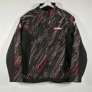 FXR Racing Mountain Soft Shell Fleece Lined Snowmobile Jacket Mens Sz 2XL