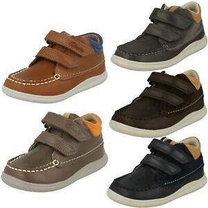 First Shoes By Clarks Boys Ankle Boots - Crest Tuktu
