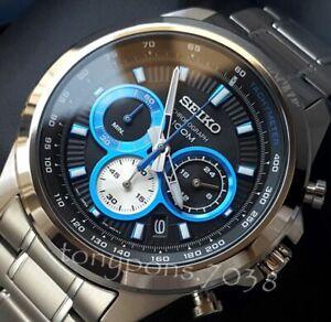 Orologio Cronografo Uomo Seiko Men's Chrono Tachymeter Cal. Seiko 8T63 – NUOVO