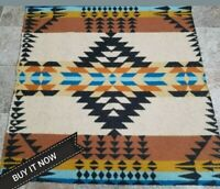 """NEW PENDLETON WOOLEN MILL BLANKET WT. WOOL """"REMNANT"""" FABRIC USA"""