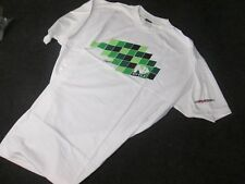 N-Style mens casual motocross shirt green checkers size xxl KX2631