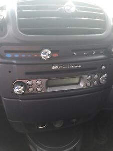 Smart Car. Cd Radio With Code Fully Tested