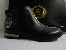 Zoe + Luca size 6.5 M Carnaby Black Leather Ankle Boots New Womens Shoes