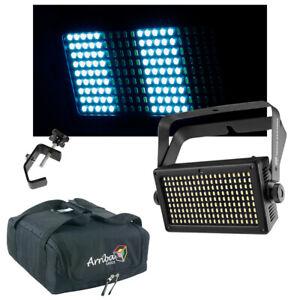 Chauvet DJ Lighting Shocker Panel 180 USB LED Stobe Light w/ Travel Bag & Clamp