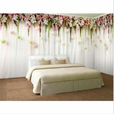 3d Wallpaper Mural Floral Bedroom Wallpapers Background Wall Cover Elegant Style