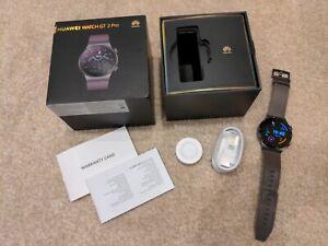 Huawei Watch GT 2 Pro Classic 46.7mm Nebula Grey Titanium Case with Grey...