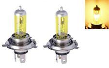 Ampoules H4 phares 100W Feux Jaune Historique 2700K Auto Moto 12V