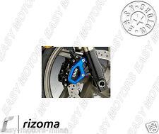 ZBW027U RIZOMA COPPIA PROTEZIONE PINZA FRENO ANT. BLU PER BMW K 1300 R  2009