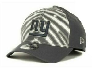 New York Giants Flex Fit Zebra Official 39THIRTY Hat Cap