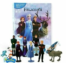 Disney FROZEN 2 My Busy Book, Map, 10 Figures & Playmat. NEW & IN STOCK