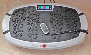 casada powerboard 2.1, Vibrationsplatte, Testgerät neu, ohne OVP, mit Zubehör