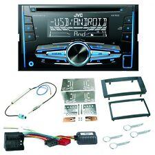 JVC KW-R520 Autoradio MP3 USB Einbauset für T5 Caravelle Multivan Transporter