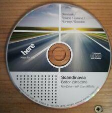 CD di Navigazione rt4 rt5/Scandinavia 2016 CITROEN c4 c5 c6 c8 PEUGEOT 207 307 407