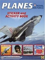 Planes of the RAF: Sticker and Activity Book Puzzles Facts Activities Paperback
